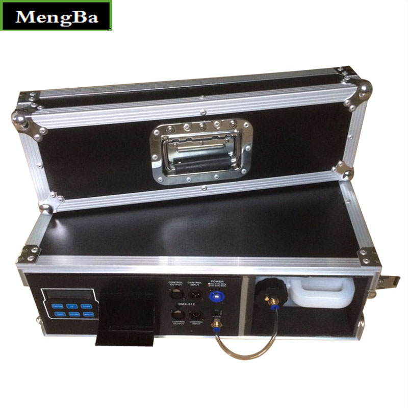 Flight Case 900W Fog Haze Machine 3.5L Fog Machine For Stage Equipment With Fog Liquid Water Based DMX512 Control FoggerFlight Case 900W Fog Haze Machine 3.5L Fog Machine For Stage Equipment With Fog Liquid Water Based DMX512 Control Fogger
