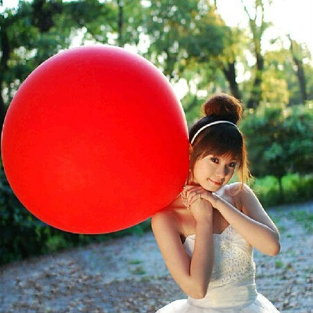 HOT SALE 10pcs/lot 27inch latex balloons Promotional balloon wedding decoration bigger round shape balls baby toys