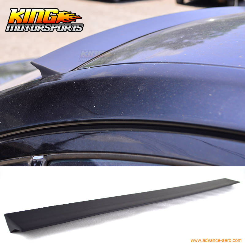 For 2010-2015 Honda Insight 2nd VRS Style Roof Spoiler Unpainted Black - PUF for 09 10 11 mazda 6 2nd vrs style roof spoiler wing unpainted puf