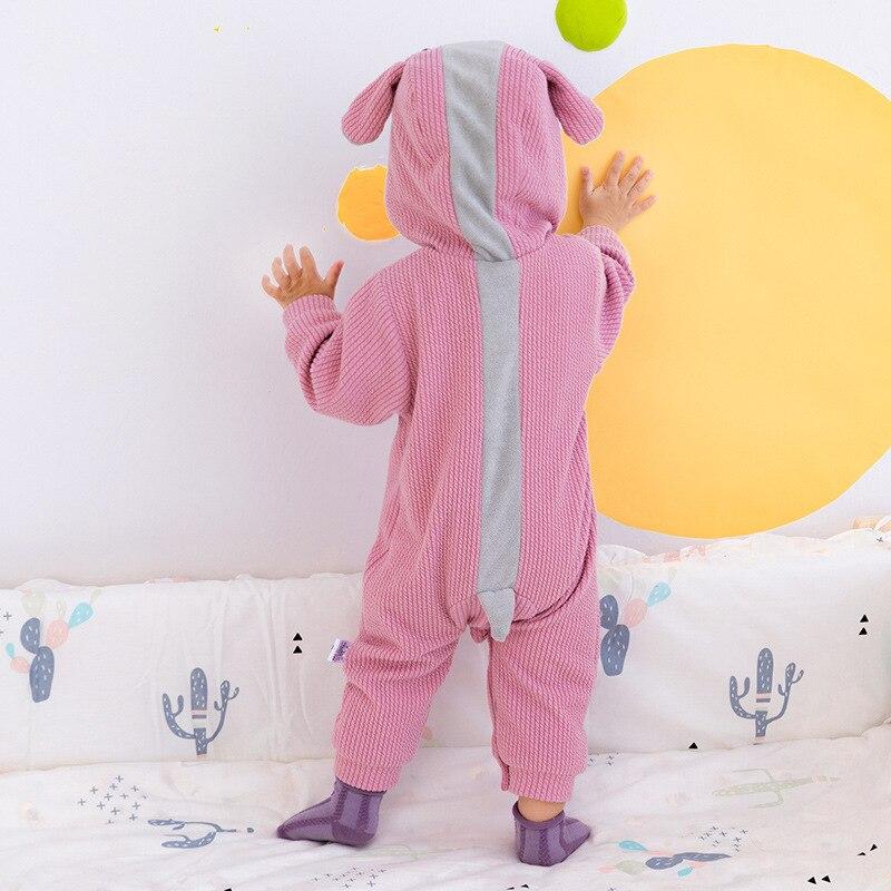 Детский комбинезон с капюшоном, на осень/зиму 6