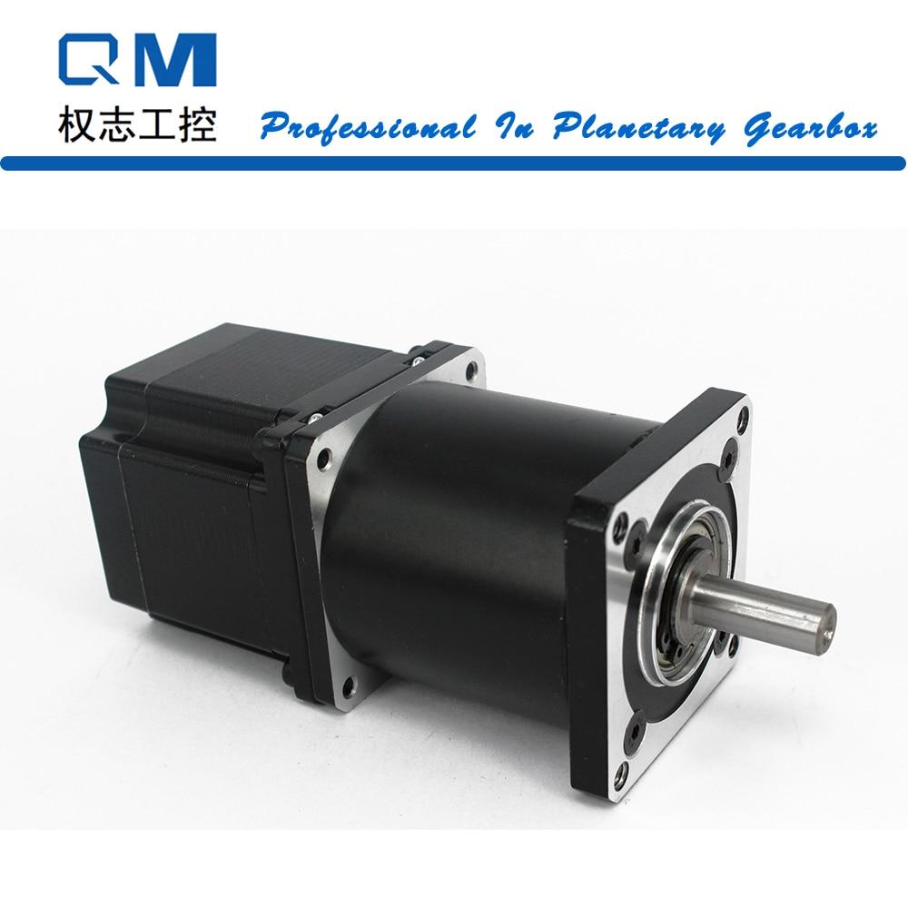Gear stepper motor nema 23 stepper motor L=54mm planetary reduction gearbox ratio 20:1 cnc robot pump high precision 2 phase stepper driver md2504 fit nema 17 23 motor 18 90vdc out 1 0a 4 5a cnc robot pump