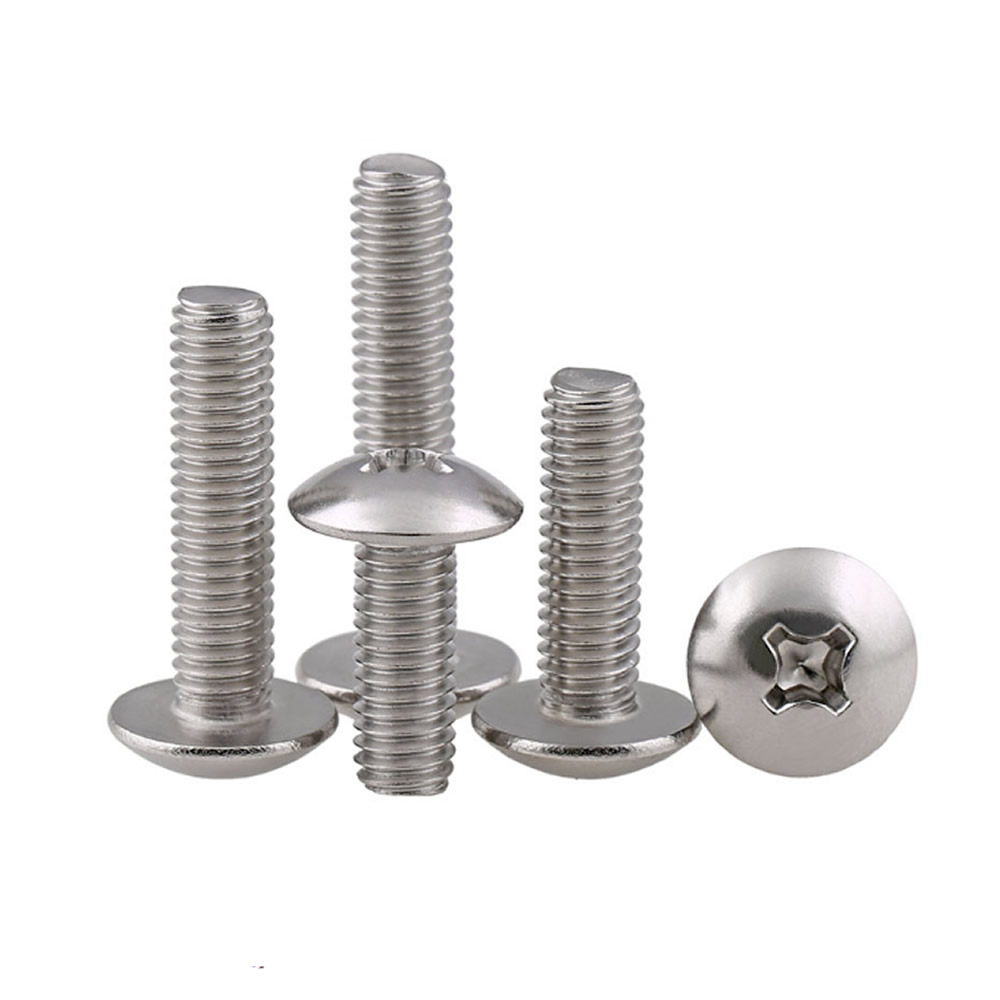 Metric Stainless Steel M5 x 45 Phillips Pan Head Machine Screw 10 Pack 45mm