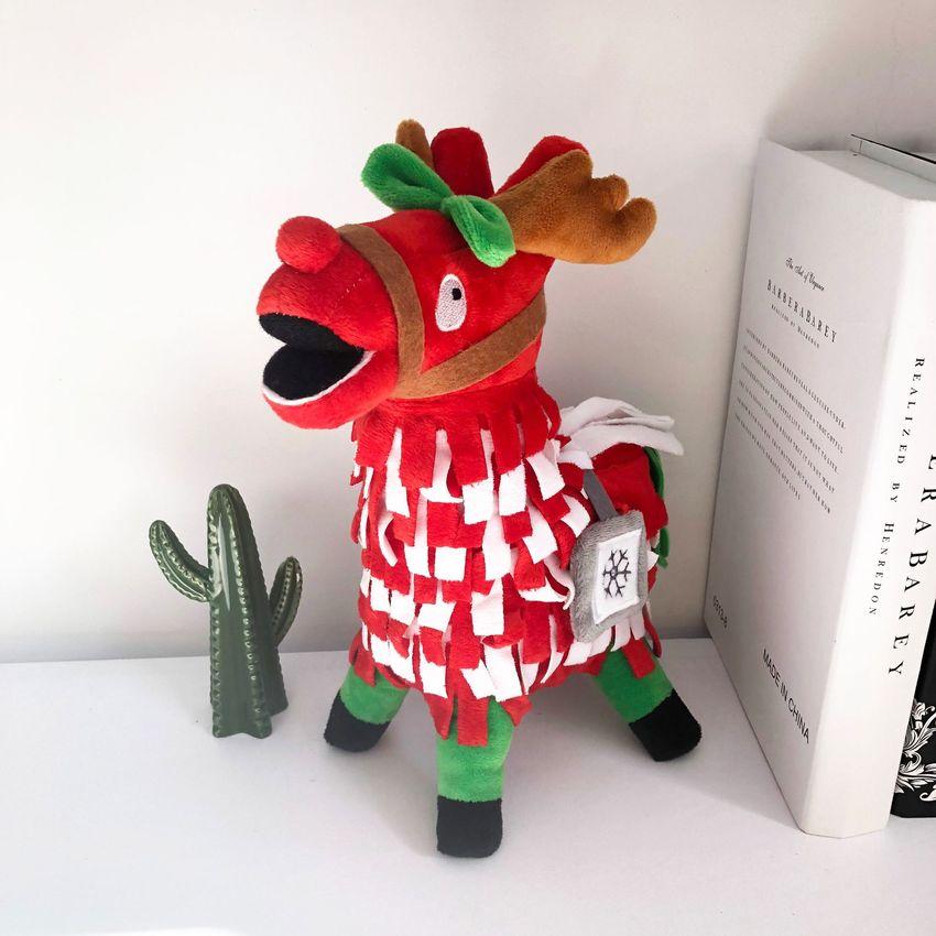 reindeer llama fortnite plush toy - funko pop fortnite reindeer