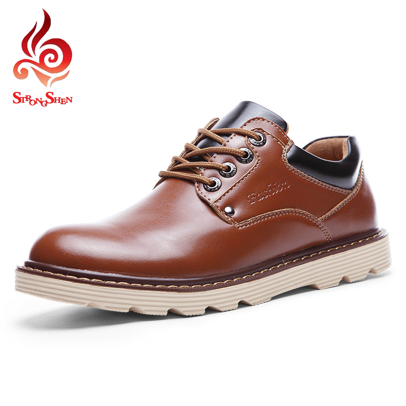 ФОТО Brown Color Fashion Men Shoes Casual Flat Shoes Office Ventilation Comfortable Men's Flats Wedding Shoes Size 38-44 YPT9989