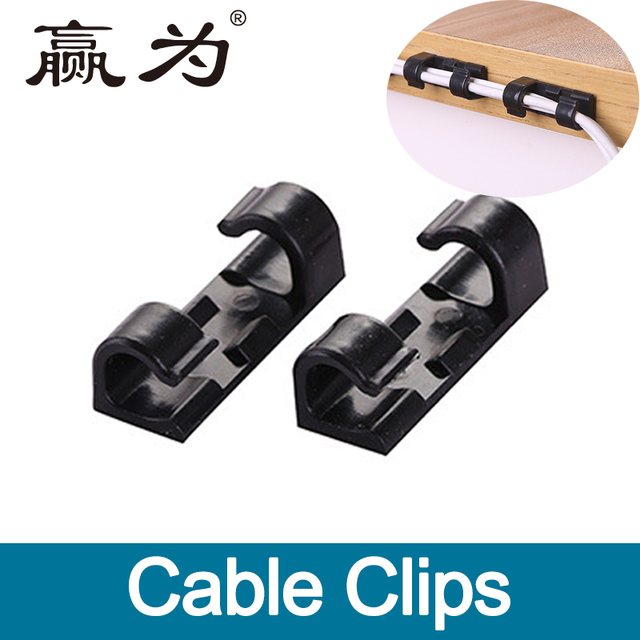20pcs Wire Cable Management Organizer Desktop & Workstation Cord ...