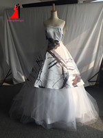 Stock Real Pictures Satin White Caom Wedding Dresses 2017 Ball Gown Bridal Gown