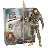 MAFEX NO.061 Aquaman Justice League PVC Action Figure Collectible Model Toy