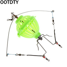 Fishing Alarm Automatic Launcher Spring Up Bait Lure Cage Multi Functional Lazy Pitcher Trap Feeder Tackle Accessories