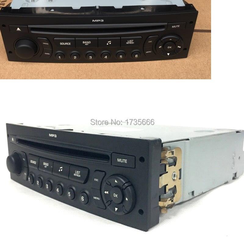 RD45 Auto font b car b font font b radio b font CD player supports Bluetooth