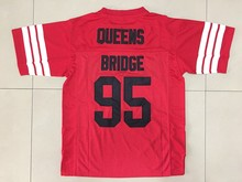 f26c0af283c Prodigy #95 Hennessy Queens Bridge Movie Stitched Football Jersey Red