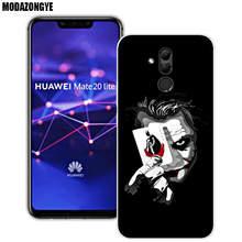 Capa de silicone macio Para Huawei Companheiro 20 Lite Casos 6.3 polegada de Silicone Transparente 20 Lite Tampa Do Telefone Para Huawei Companheiro coque Capa