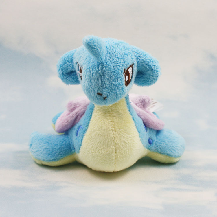 10pcs lot 15cm Pikachu Lapras Plush Doll Toy Stuffed Dolls Christmas New Year Gifts for Children