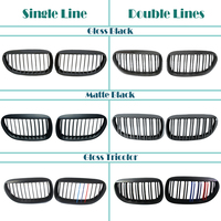 Car Kidney Front Racing Grills For BMW E63 E64 BMW 6 Series Coupe E63 M6 650Ci 645Ci 2003 2010 M Power Performance Accessories