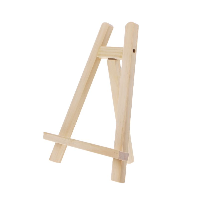 20*28cm Mini Artist Wooden Easel Wood Stand Display Holder For Party Decoration Triange Easel Painting Supplies