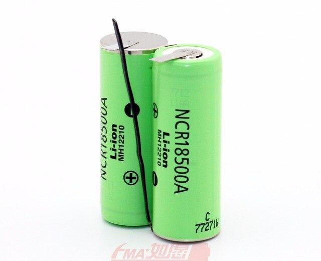 DIY Kamera LP E6 5D Mark II 5D2 5D3 5DS 6D 60D 7D 7D2 70D 80D 5DSR Li Ion Batterie 7,4 v 2040 mah durch Japan 18500 NCR18500A zelle