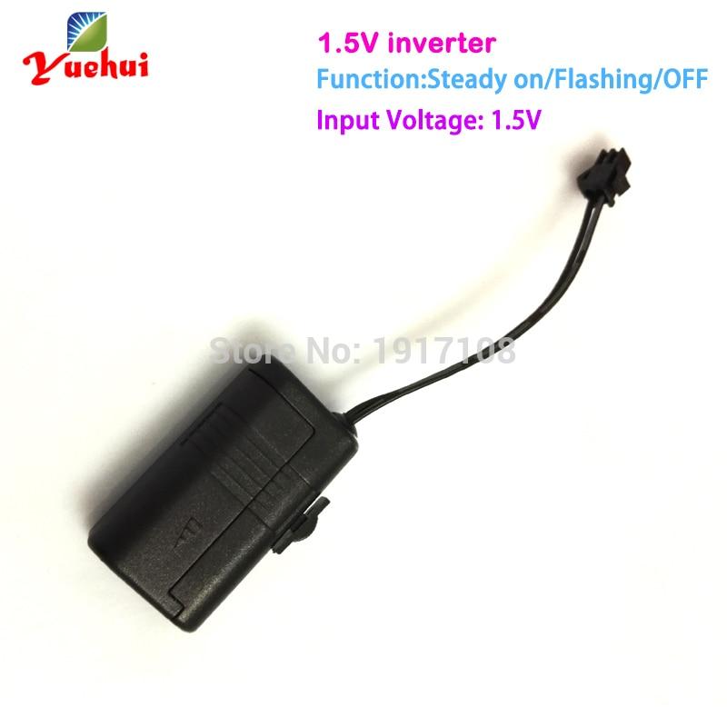 1,5 V EL draht inverter/EL konverter angetrieben durch aaa batterie ...