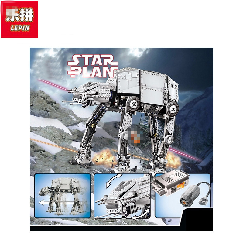 Lepin NEW 05050 Star War Series AT-AT the Robot Electric Remote Control Building Blocks Toys 1137pcs Boys Toys Gift herbert george wells the war of the worlds