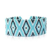 Shinus Strand Bracelets Women Jewelry Bracelet Femme Bohemian Bijoux Handmade Tassel Friendship Boho Seed Beads Handmade