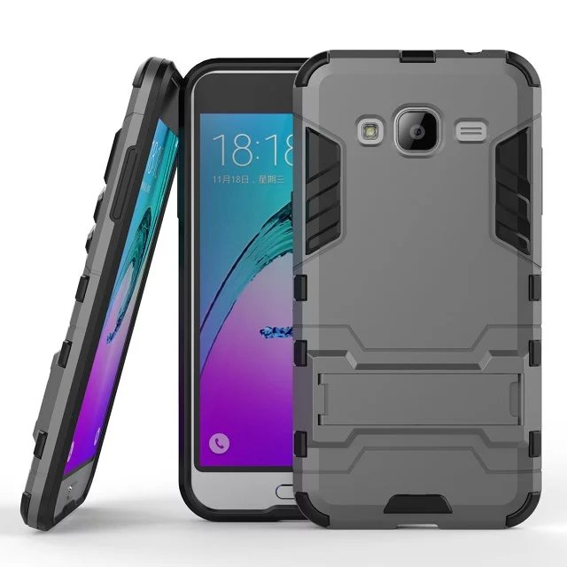 new style 6f4c7 7551b US $2.68 37% OFF|HATOLY For Rubber Cover Samsung Galaxy J3 2016 Case J320  Heavy Hybrid Hard Case for Samsung Galaxy J3 Phone Cases For Galaxy J3-in  ...