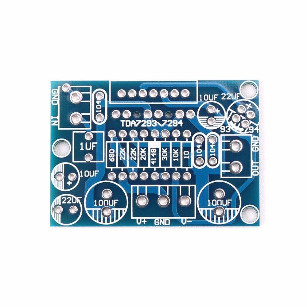TDA7293/TDA7294 моно панель канального усилителя Цепи PCB голые усилительная плата