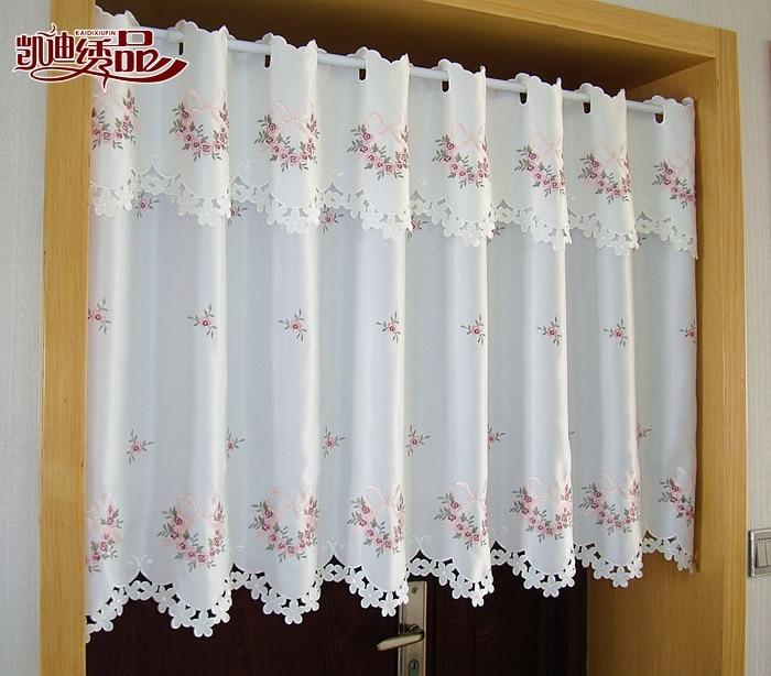 Cristal flores frente cocina - Dobladillo cortinas ...