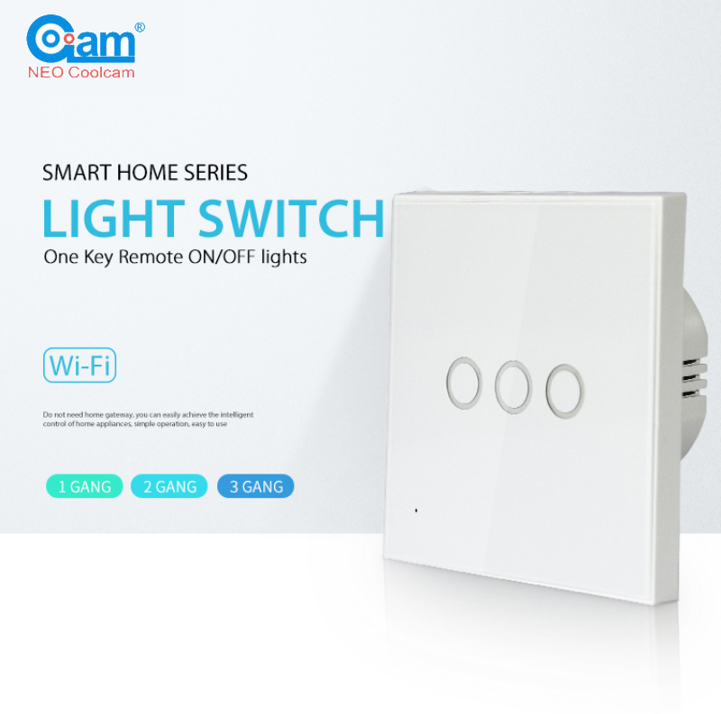Smart Home Generous Neo Coolcam Nas-sc01/02/03ze Smart Home Z-wave Plus 1/2/3ch Eu Light Switch Compatible With Z-wave 300 Series And 500 Series