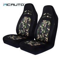 PIC AUTO Camo High Back Seat Covers Universal Fit Cars interior Accessories Seat Protector Mesh&Polyester Fabric Waterproof New