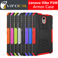 For Lenovo Vibe P1M Case TPU & PC Hybrid Silicon Cool Armor Anti-Knock Protective Back Cover For 5.0inch Lenovo Vibe P1M Phone