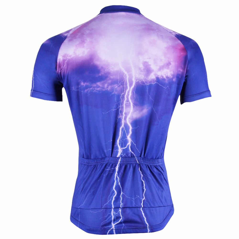ILPALADINO Summer Cycling Jersey Men s Short Sleeve Orange Wide Stripes  Maillot Ciclismo MTB Mountain Bicycle Racing Clothing-in Cycling Jerseys  from Sports ... ef94e32de