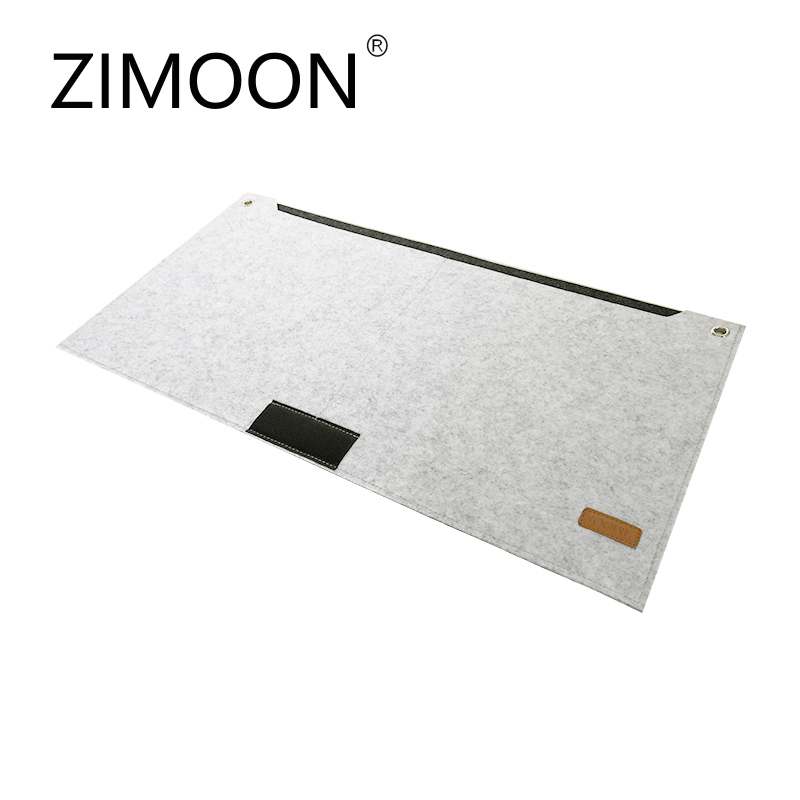 Cool Gadgets Felt Large Mouse Pad 630*330mm Multi-function Mousepad Mouse Mat Keyboard Mat Table Mat With Pen Jack And Storage Bag