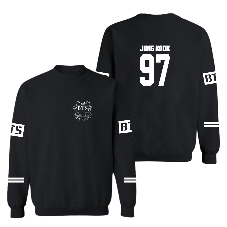 Hoodies And Sweatshirts  Bts Kpop Autumn Winter Pullovers BTS Sweatshirt Mens Bangtan Boys Men/men fashion clothes