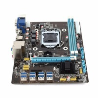 For 8 Graphics Cards Mining Miner Machine Professional Compact PCI E B85 Motherboard ETH X79 Mainboard