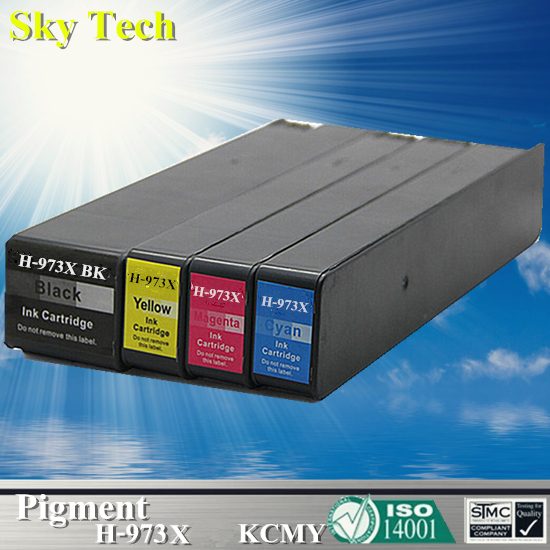 Pigment Ink Cartridge For HP973X HP-973X , For HP PageWide 352dw 377dw Pro 452dw 452dn 452dwt 477dw MFP 477dwt 552dw