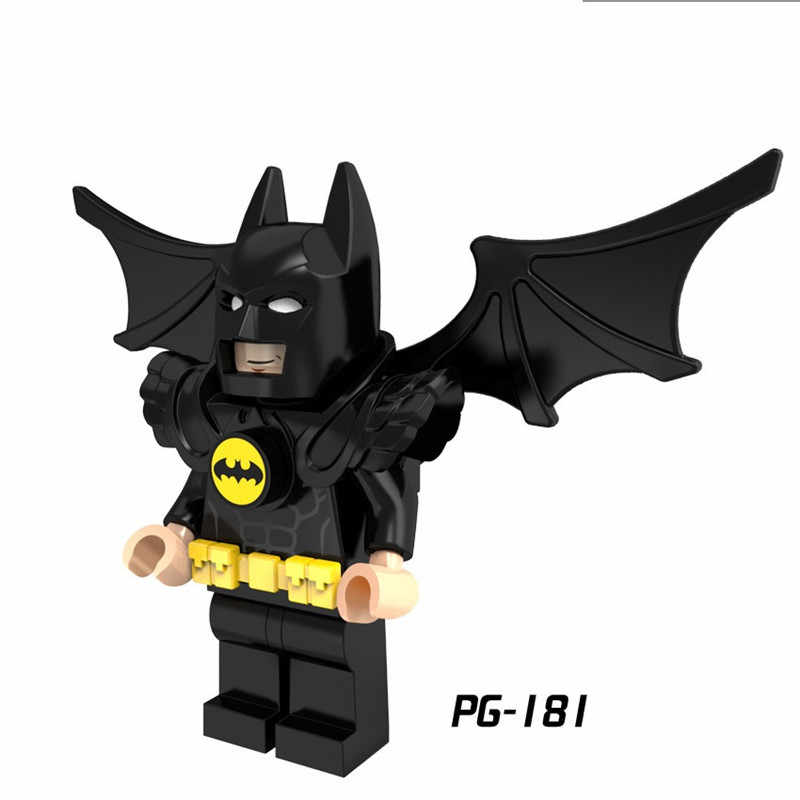 Robin X-Men Dc Super Heroes Batman Joker Harley Quinn Veneno Deadpool Figuras Building Blocks Brinquedos