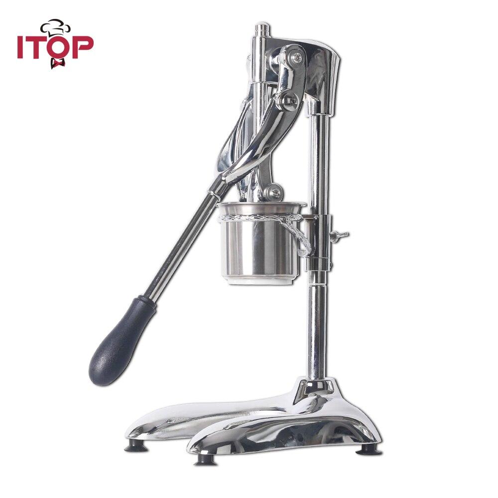 ITOP alliage d'aluminium manuel pomme de terre puce grinceurs Machine américaine 30 CM Long fabricant de croustilles frites coupe trancheuses