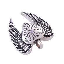 Lace Angel's Wings Urn Necklace
