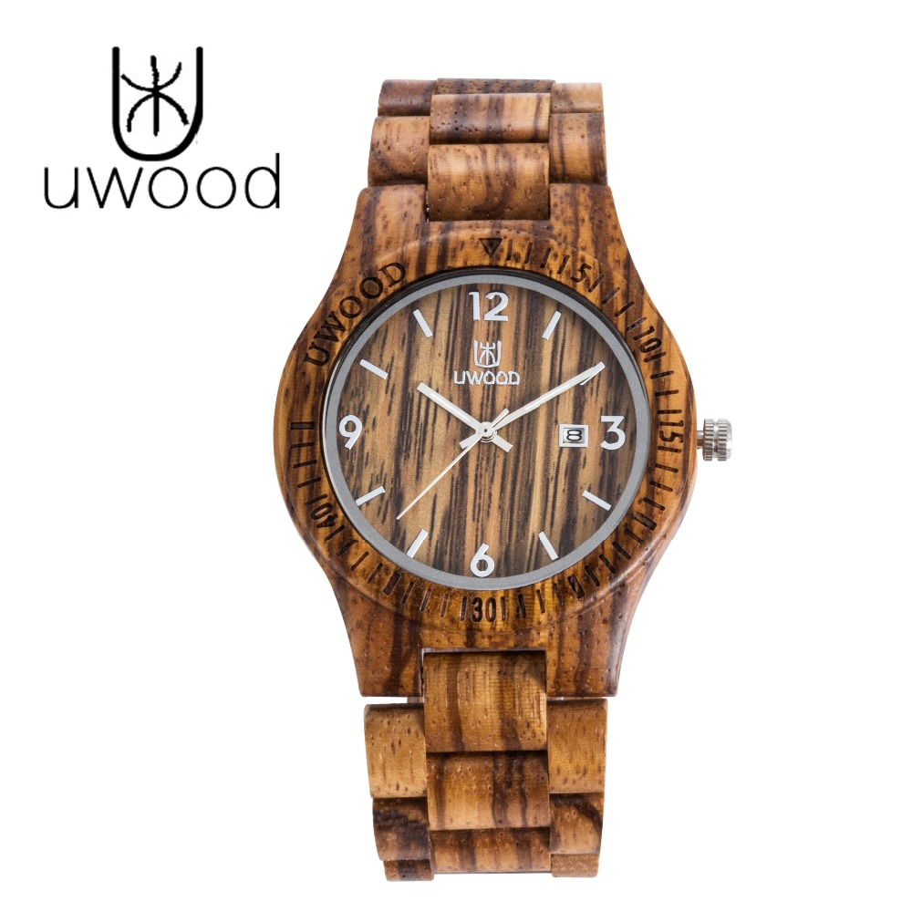 Hot Sell Fashion Men Bamboo Wood Watches Men s Quartz Hour Clock Vintage Retro Wooden Wrist