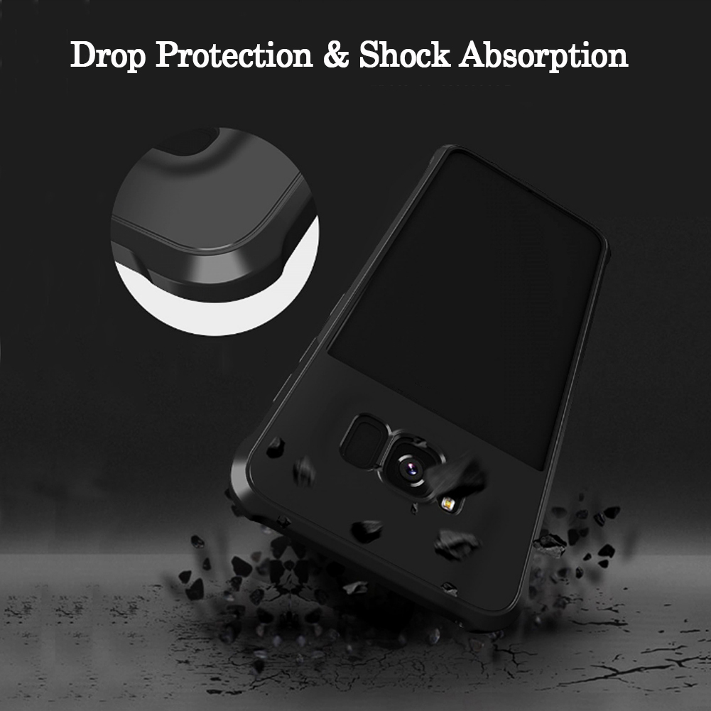 MAYROUND Sound Hole Design Perfect Wrapping Edge Shock-resistant TPU Panel Cases For Samsung Galaxy S8 Plus Cover Capa Fundas