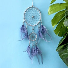 Dreamer hand dream catcher Indian feather charm literary birthday gift to friends creative gifts handmade wind chimes