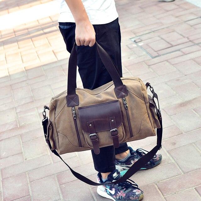 Novo estilo de moda Coreano saco do mensageiro dos homens bolsa de ombro masculino saco de viagem grande capacidade sacos