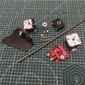 CR-10/Ender 3 3D printer upgrade Dual Extruder Mount dual z axis upgrade linkerhand extruder voor CR-10 Ender-3 pro upgrade kit