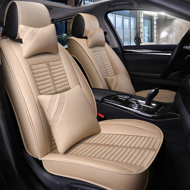 Pleasant Leather Car Seat Covers Cushion Automobiles Seats Cover For Dodge Durango Great Wall C30 Haval H3 Hover H5 Wingle H2 H6 H7 H8 H9 Frankydiablos Diy Chair Ideas Frankydiabloscom