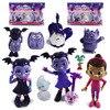 9pcs/Set Junior Vampirina Figures Kids Juguetes PVC Mini Nendoroid The Vamp Bat Anime Figurines Vinyl DOll Toys for Children