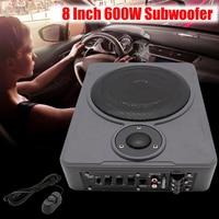 8 дюймов Bluetooth автомобиля домой сабвуфер под сиденьем Sub 600 Вт стерео сабвуфер автомобильные аудиосистемы Динамик музыка Системы звук НЧ