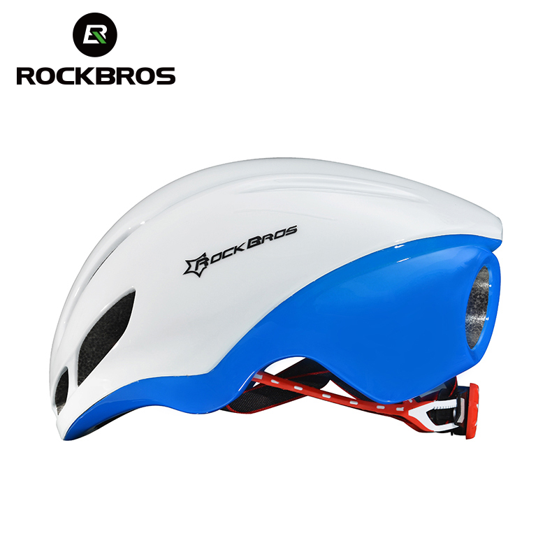 RockBros Road Bike Bicycle Streamlined Integrally-molded Helmet Men women Riding Cycling Safety Ultralight Breathable EPS Helmet rockbros cycling helmet eps reflective bike helmet 3 in 1 mtb road bicycle men s safety light helmet integrally molded pneumatic