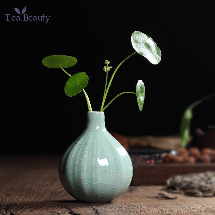 tipos venta caliente tradicional chino longquan celadon porcelana florero de mesa decoracin diseo nico tipo