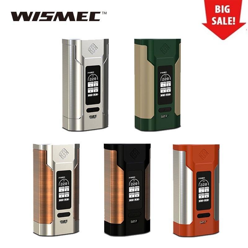 228 w WISMEC Prédateur 228 TC MOD Fit Elabo Réservoir Alimenté Par 2x18650 Batterie Pas Inclus Boîte de vaporisateur mod Prédateur 228 w Vs Alien Mod