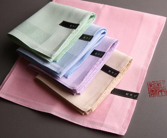 Handkerchief Women Cotton Ladies  Hankies Soft