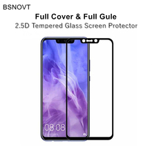 2pcs Full Cover&Full Glue Screen Protector For Huawei Nova 3i Glass Coverage Tempered Phone / P Smart Plus