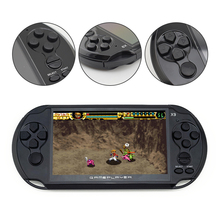 New Arrival 5.0 Large Screen Handheld Game Player Support TV Out Put With MP3/Movie Camera Multimedia Video Game Console